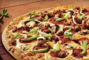Dominos slices 50% off pizza prices online
