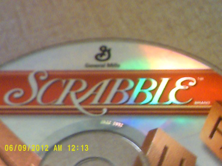 Scrabble PC game Windows 95 or higher/16 MB RAM