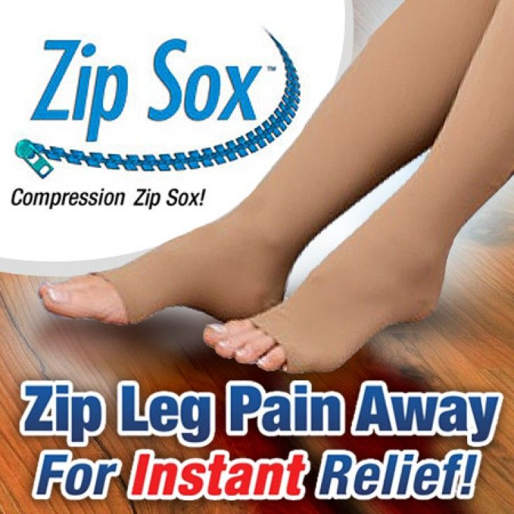 Zip Sox - Compression Circulation Socks - As Seen On TV