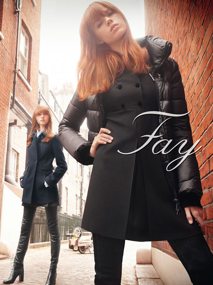 Fay Women's Fall - Winter 2015/16 Advertising Campaign
