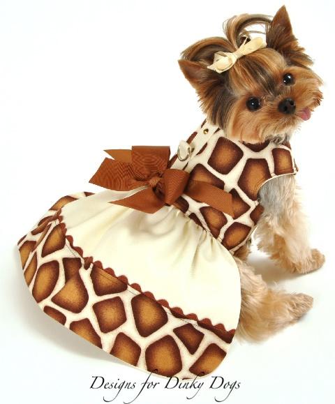 Cute Yorkies Dresses