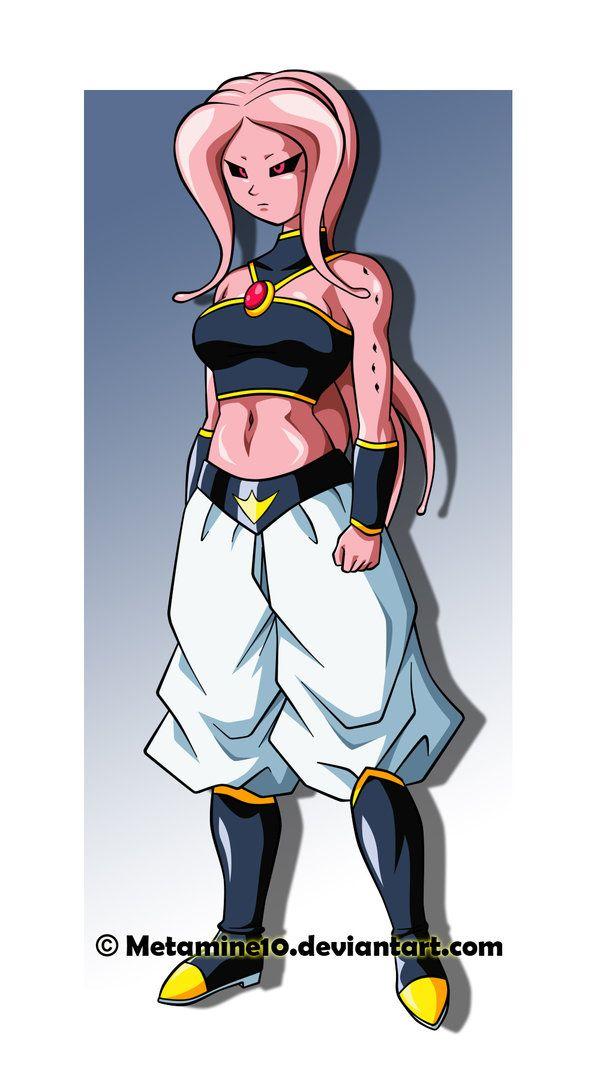 Majin Female By Metamine10 Anime Dragon Ball Super Dragon Ball Artwork Dragon Ball Art