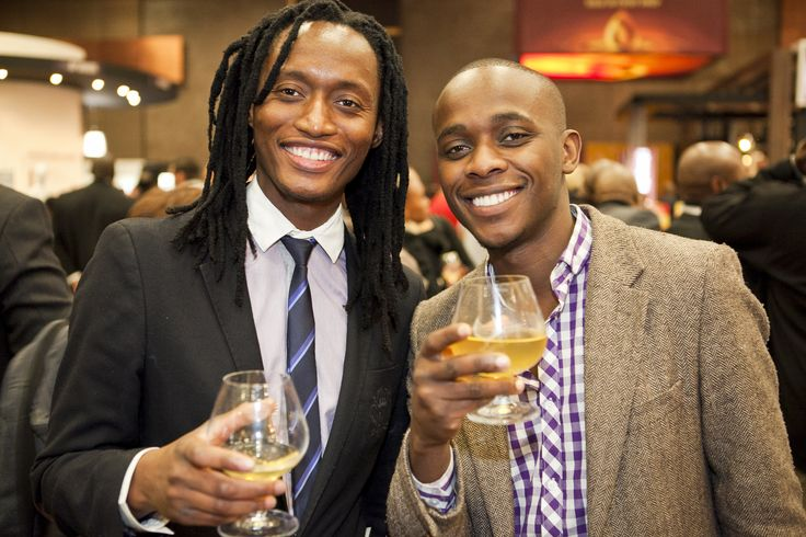 Guests enjoying the South African Brandy Fusion