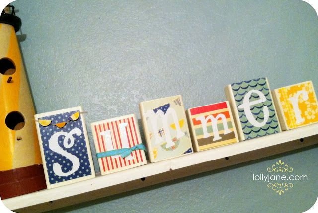 Summer blocks - Lolly Jane @ http://lollyjane.com/summer-blocks/