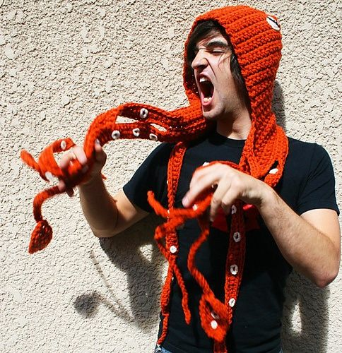 Kraken hooded scarf! I think this one is a must!