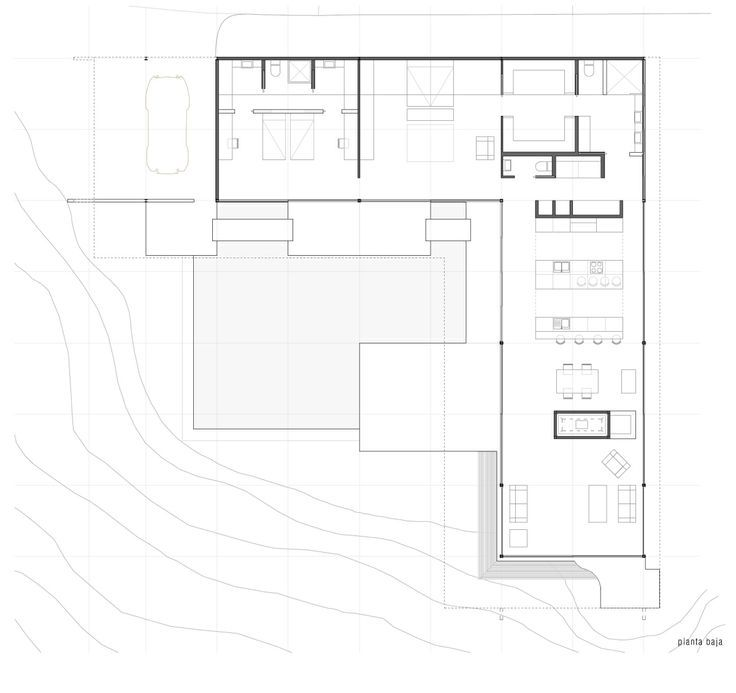 Great Buildings Image   Stahl House  Case Study House No
