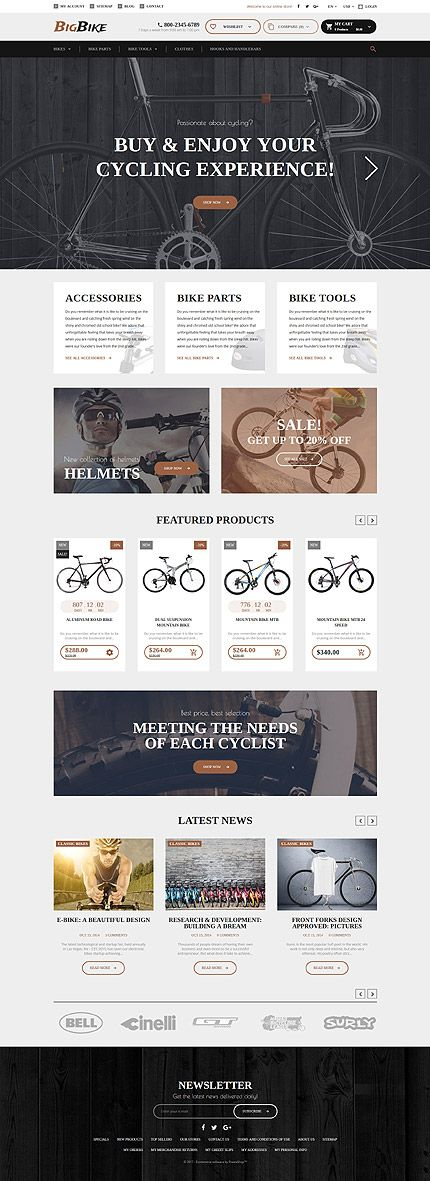 All Type Of Bicycles Online Store #Prestashop #template. #themes #business #responsive #webshop #Prestashopthemes