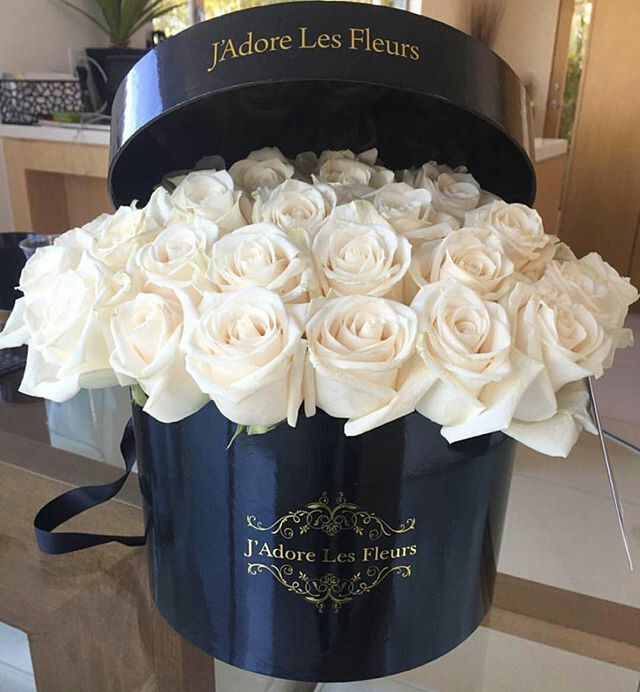 J'adore les fleurs white roses - Anastassia Krez