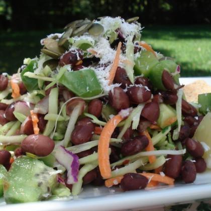 40 Easy Recipes Under 400 Calories from Shape.com - Island Bean Salad