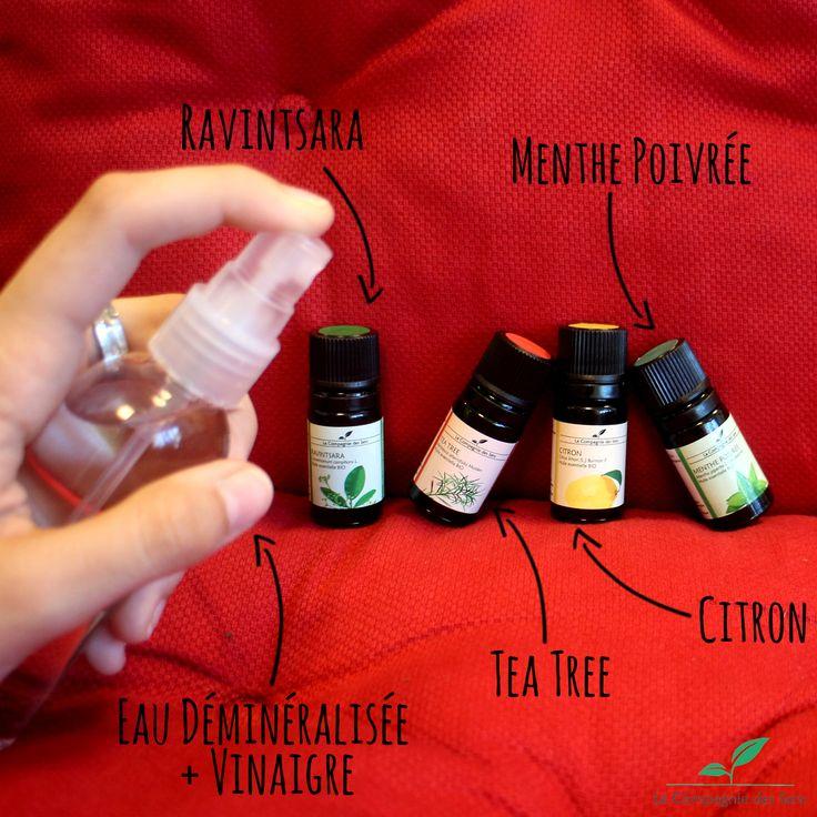 DIY désodorisant textile naturel pour éliminer les odeurs de tous vos tissus grâce aux huiles essentielles