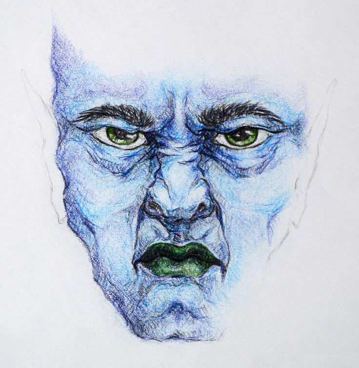 Pissed Evil (by Fikus), Crayons
