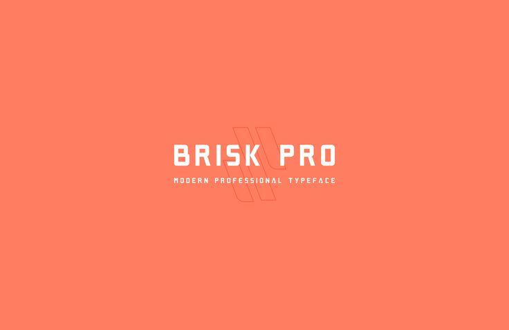 Brisk Pro Typeface - Free Download on Behance