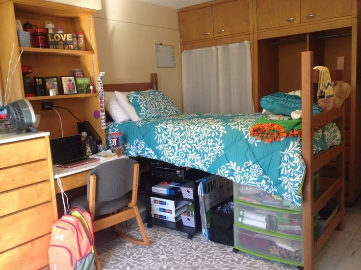 My Dorm Room At Appalachian State In East Hall College