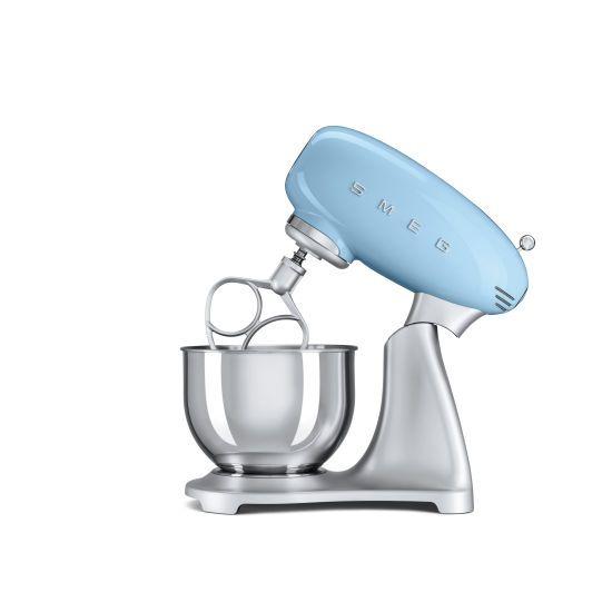 smeg stand mixer pale blue
