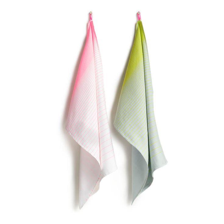 Hay Gradient Cotton Tea Towels - Set of 2-product