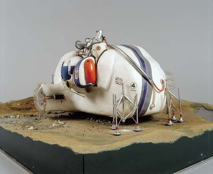 """Living Pod"" – Arquitecto: David Greene (Archigram)"