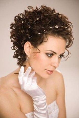 Wedding Hairstyles For Curly Hair Pinterest