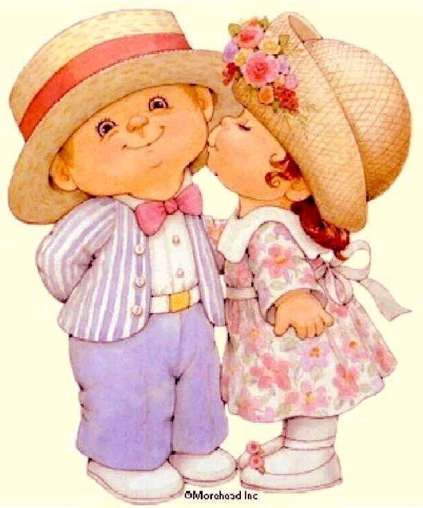 Открытки с детьми поцелуй, открытка марта