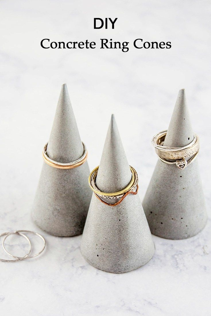 Make your own concrete ring cones with this easy tutorial, including lots of tips to help you get the best possible result.