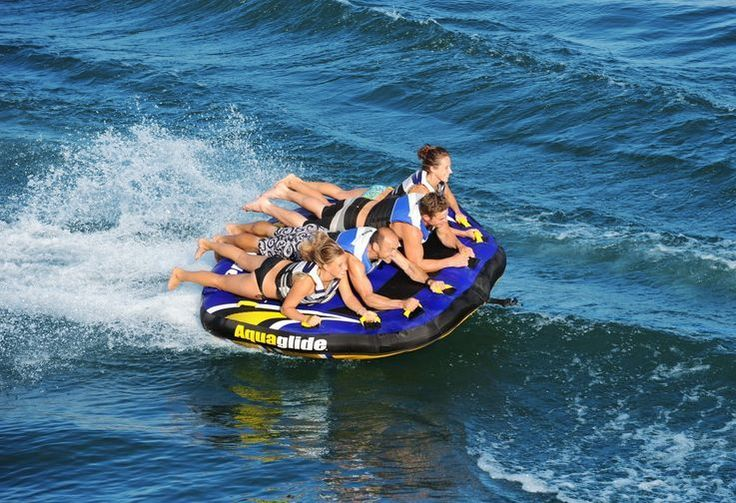 Towable Water Tube New 4 Person Inflatable Water Boat