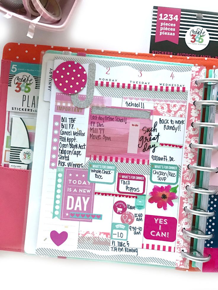 726 best images about the happy planner on pinterest for Happy planner ideas