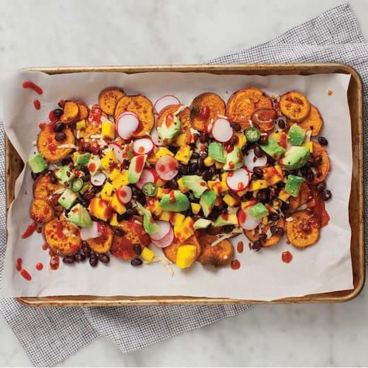 Loaded Sweet Potato Nachos Are Making All Our Snacking Dreams Come True