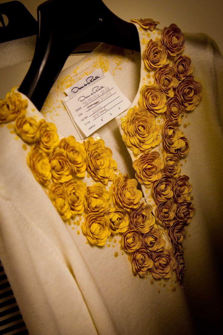 Oscar de la Renta #yellow