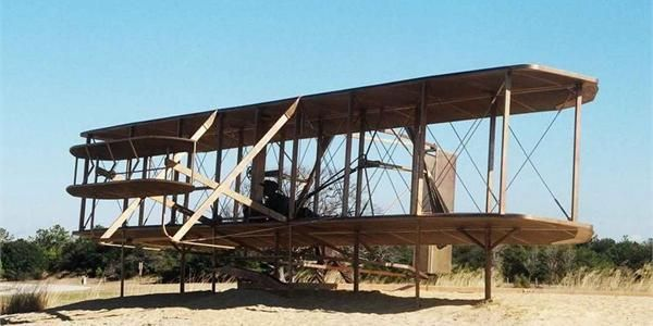 Wright Brothers National Memorial in OBX! Make sure to put this on your list of places to visit in Outer Banks!