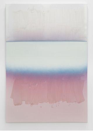 "Nathan Hylden (b. 1978) ""Untitled"", 2011. Acrylic and polyurethane on canvas, 170.18 x 119.38 cm"