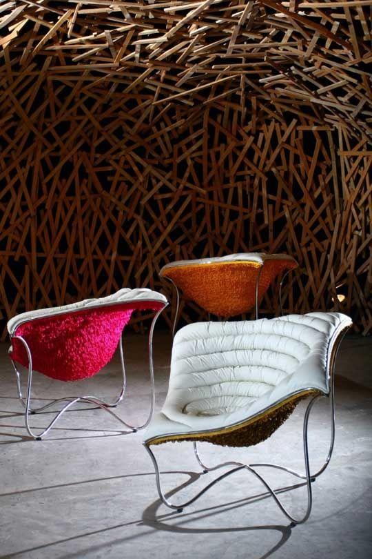 Design Da Cadeira Paisley Por Vito Selma