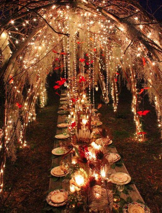 IDEA BOARD - Midsummer's Night Dream Theme - http://www.whitesatinweddingshow.com/idea-board.html
