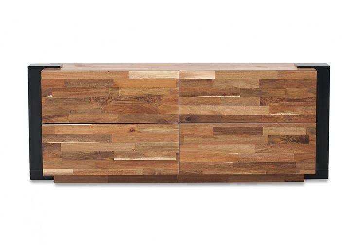 Amani 4 Drawer Dresser | Super A-Mart