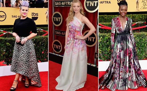 Confira os looks das famosas no SAG Awards 2015 - Moda - CAPRICHO