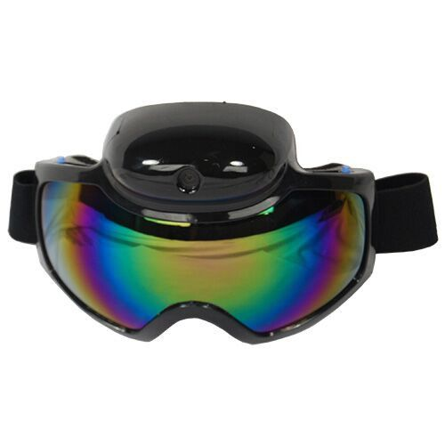 The high-performance Ski Goggles capture your winter sports adventures in stunning 1280 x 720 clear resolution. They can be used for motor cross, mountain biking, fishing, and many other outdoor activ