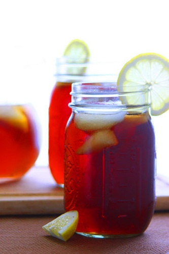 for a picnic or backyard BBQ - sweet tea!