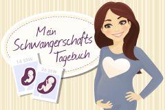 Neu: ganz persönliches Schwangerschaftstagebuch!