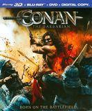 Conan the Barbarian [2 Discs] [3D] [Blu-ray/DVD] [Blu-ray/Blu-ray 3D/DVD] [English] [2011]