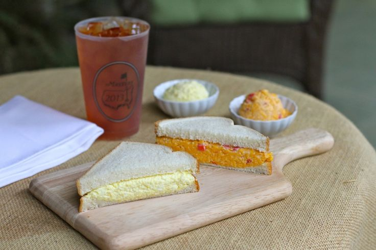 The Masters Egg Salad and Pimento Cheese Sandwiches on http://www.angiessouthernkitchen.com