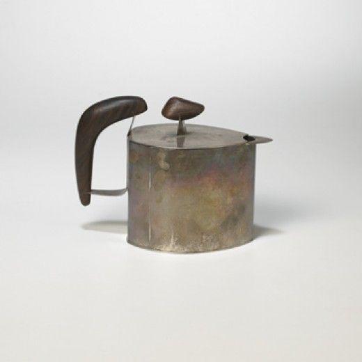 // Harry Bertoia, Silver Teapot, 1940.