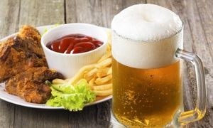 Pub Food at Paddy Whacks Irish Sports Pub (Up to 50% Off). Two Options Available.