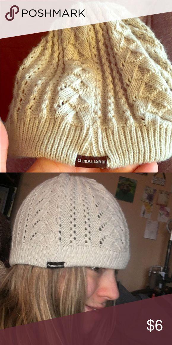 Adidas beanie tan color Cute adidas beanie keep your ears warm while jogging Accessories Hats