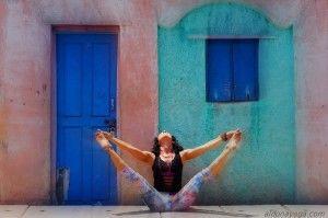 Ashtanga Yoga - Upavistha Konasana