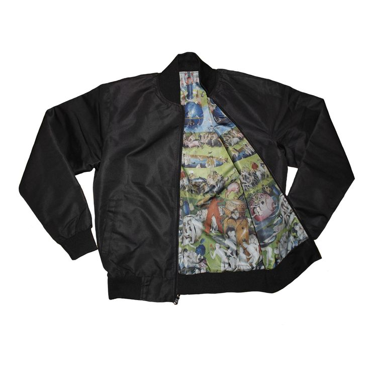 Earthly Delights Reversible Bomber