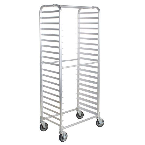 Winco 10 Tier Aluminum Sheet Pan Rack 26 Inch Length 1 Each Read More Reviews Of The Product By Visiting The Link On The Image Pan Rack Winco Cooking Tools