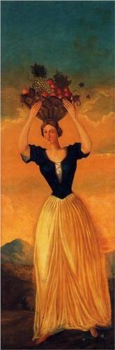 The Four Seasons, Autumn - Paul Cezanne