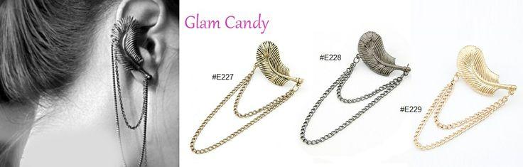 Shop: www.worldofglamoursa.com #GlamCandy #EarCuff