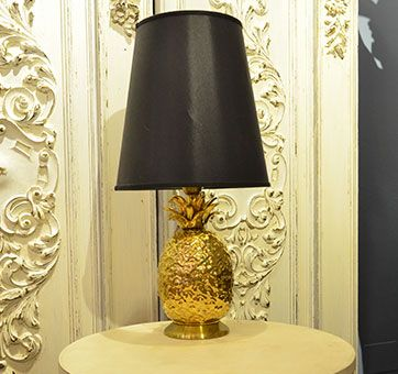 lampada ananas anni '80