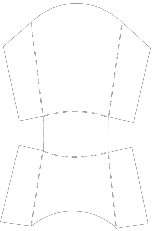 fry box template