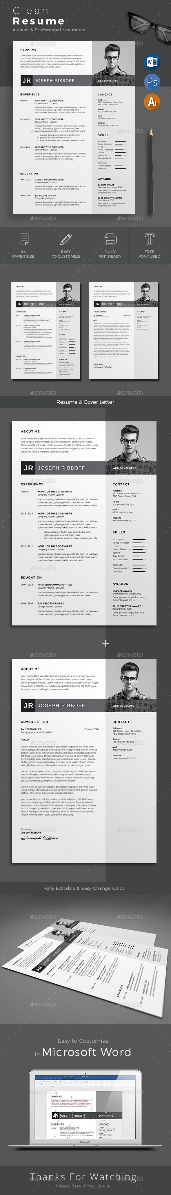 Best 25+ Indesign resume template ideas on Pinterest | Creative cv ...