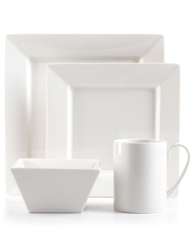 Martha Stewart Collection Avenue Square Whiteware